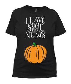 f53a64b3a Halloween Pregnancy Announcement Maternity Shirt Pregnancy Reveal Baby  Announcement Expecting Mom I Halloween Pregnancy Announcement,