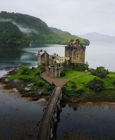 This is Eilean Donan Scotland.