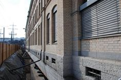 MFO-Building on the old location Zurich, Old Things, Building, Buildings, Architectural Engineering