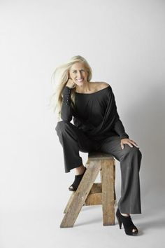 this is what 50+ looks like  libby edelman, 58  founder of Sam & Libby shoes