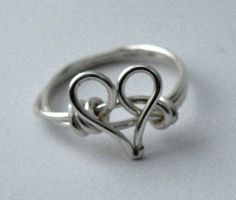 Silver Heart Ring $9