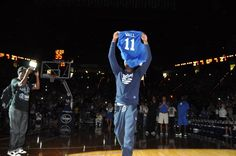 Photos from Saturday's UK Alumni Charity Game at Rupp Arena, plus pictures from the John Calipari Basketball Fantasy Experience All-Stars vs. the 1996 national championship team. (photo by Chris Reynolds)