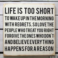 Life is too short...