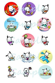 Electronics, Cars, Fashion, Collectibles, Coupons and Pochacco Sanrio, Bottle Cap Images, Bottle Caps, Hello Kitty Characters, Baby Items, Coupons, Snoopy, Kawaii, Bows