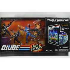 Lookie Lookie at what just came in... GI Joe DVD Battle... take a look! http://bigboycollectibles.com/products/gi-joe-dvd-battle-pack-set-4-of-5-2008?utm_campaign=social_autopilot&utm_source=pin&utm_medium=pin #actionfigures #toys #bigboycollectib