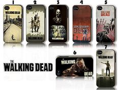 The Walking Dead Zombies Governor Rick Phone Case Cover for iPhone 4 4s 5 5s 5c
