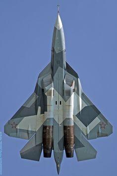 véhicule militaire - rocketumbl: Sukhoi PAK FA