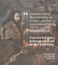 Hobbit love from Richard Armitage