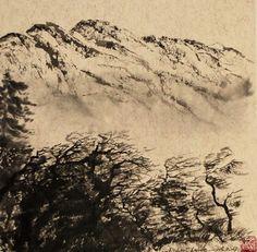 Vente de Noël Souffle le vent, glisse le nuage, voici l'automne Zen, Souffle, Voici, Abstract, Artwork, Painting, Cloud, Fall Season, Paint