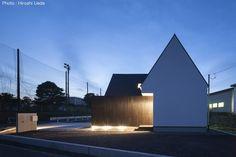写真 Modern Bungalow, Opera House, Building, Projects, Arquitetura, Log Projects, Blue Prints, Buildings, Construction