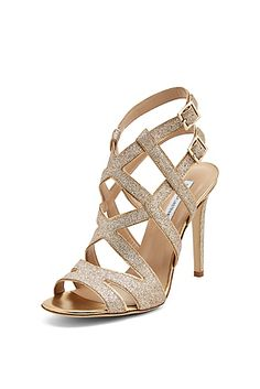 Beautifully detailed and very sexy, the Valene is the evening sandal of the season. #DVF