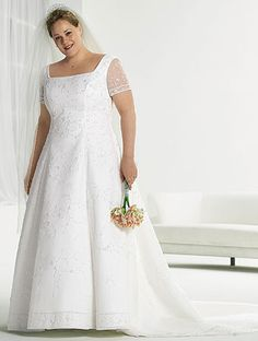 ab8a83f495603 flyingbrides.com Offers High Quality brilliant short sleeves a-line floor  length plus size wedding dresses