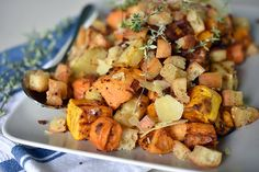 Winter Roast Vegetables with Pancetta Crumb Recipe Weber BBQ Australia Bbq Vegetables, Roasted Winter Vegetables, Roasted Vegetable Recipes, Vegetable Dishes, Veggie Recipes, Healthy Grilling Recipes, Grilled Steak Recipes, Cooking Recipes, Weber Q Recipes