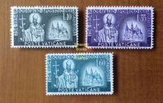 EBS Vatican City Città del Vaticano 1955 St Boniface & Fulda 192-194 M Hinged * in Stamps, Europe, Vatican | eBay