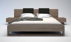 Monroe Modern and Contemporary Bed by ModLoft | Cressina