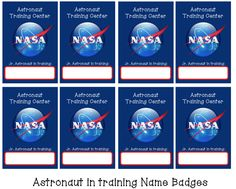 astronaut name tags google search vbs 2015 pinterest astronauts. Black Bedroom Furniture Sets. Home Design Ideas