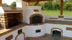 Kerti konyha - Veresegyház Outdoor Kitchen Plans, Outdoor Kitchen Design, Bbq Wood, Outdoor Barbeque, Small Yard Landscaping, Outdoor Fireplace Designs, Backyard Projects, Shabby Chic Decor, Home Decor Styles