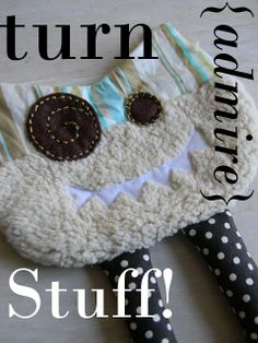 simply homemade: Happy little monster softie pattern & tutorial
