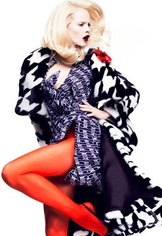 www.fashion2dream.com  Ginta Lapina by Greg Kadel for Numero