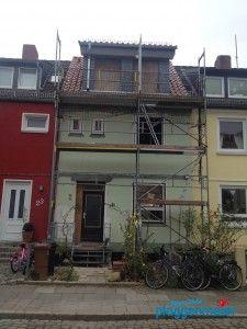 WDVS in Bremen - so sah es aus, bevor die WDVS-Profis kamen.