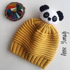 Kids Knitting Patterns, Baby Hats Knitting, Easy Crochet Patterns, Loom Knitting, Knitting Designs, Knitting Projects, Knitted Booties, Knitted Gloves, Knit Or Crochet