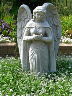 Angel at Heavenly Scents Herb Farm, Fenton, MI
