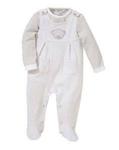 Next Baby Girls 0-3 Months Animal Dungarees Romper All In One Outfit White Outfits & Sets Clothing, Shoes & Accessories