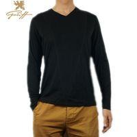 Uk.Greiff. T Shirt Men full  sleeve 3XL Cotton  Fitness V- Neck  Spring & Summer Men Brand Casual T-shirt Men free shipping