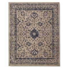 Add pattern and texture to your space with a Vintage Distressed Area Rug from The Industrial Shop. Inspired by a love of vintage finds, this floor rug has a worn and weathered appearance. It's made of 100% nylon, so it's great for high-traffic areas.