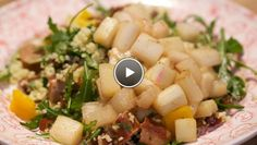 Rabarbercouscous - recept | 24Kitchen (omit sausages, use veggie stock & agave nectar to veganize)