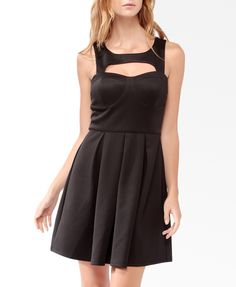 Squared Cutout Bustier Dress | FOREVER21 - 2021840780