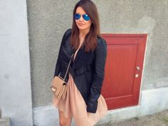 Danish fashion blogger Lily Silwer spotted wearing our soft leather blazer. Amazing look. Read more on Lily's blog right here: http://beyondblack.dk/?s=object #objectfashion