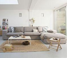 big couch mit schlaffunktion im wohnzimmer
