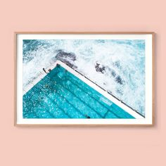 Aj Photography, Bondi Icebergs, Print Place, Bondi Beach, Beach Print, Large Prints, Ariel, Sydney, Display