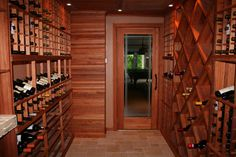 #wine #cellar LEGAL NOTICE: Please note this image may be copyrighted and any redistribution outside Pinterest may result in legal action. This is NOT a Parrish Construction project. This pin/re-pin is intended ONLY to serve as design inspiration for friends of Parrish.