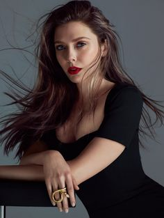 Elizabeth Olsen, photographed by Hunter & Gatti for FLAUNT magazine, May 2014.