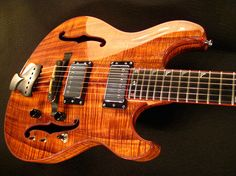 The Ocelot guitar. Beautiful music. Pinned by Trey Anastasio.  #Phish #Trey #Languedoc