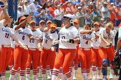 Behind senior Lauren Haeger's two-hitter, the No. 1-seeded University of Florida softball team (54-6) blanked Kentucky (33-25) on Saturday afternoon in front of a sellout crowd (1,739) in Game 1 of an NCAA Super Regional, 7-0 at Katie Seashole Pressly Stadium.