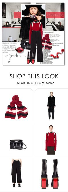 """""""Living in the city"""" by undici ❤ liked on Polyvore featuring Louis Vuitton, Undercover, The Row, Maison Margiela, Marni, DAMIR DOMA, Vetements, holidaystyle, HolidayParty and christmasparty"""