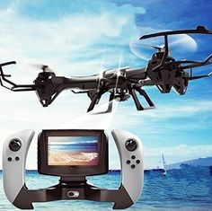 Udi Large Gyroscope RC Quadcopter Drone Black Color with FPV Camera & Real-Time FPV Remote Control with Extra battery www. Buy Drone, Drone For Sale, Drone Diy, Aerial Camera, Remote Control Drone, Flying Drones, Rc Helicopter, Drone Quadcopter, Aerial Photography