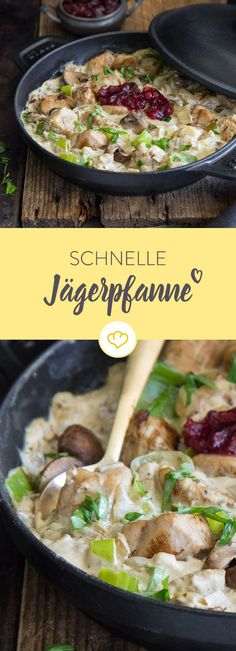 Mit Hühnchen statt Schwein, geschnetzelt statt geschnitzelt: Dieses fixe Afterw… With chicken instead of pork, sliced instead of shredded: This fix after-work meal with leeks and creamy creamy sauce makes the end of the day cozy. Paleo Dinner, Dinner Recipes, Dinner Ideas, Law Carb, Good Food, Yummy Food, Work Meals, Cooking Recipes, Healthy Recipes