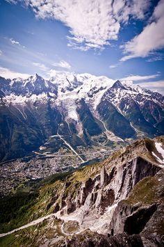Mont Blanc | Chamonix, France le tram du Mont Blanc