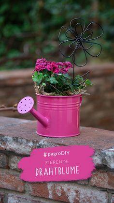 Planter Pots, Creative Ideas, Florals, Garten