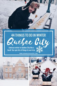 Embrace winter in Québec City like a local! Our epic list of things to see & do during your trip.