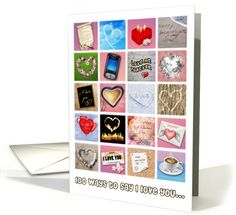 100 ways to say I love you, Valentine's Day | Greeting Card Universe by Aurora2000