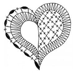 Bobbin Lace Patterns, Crochet Patterns, Bobbin Lacemaking, Lace Heart, Brazilian Embroidery, Point Lace, Lace Jewelry, Crochet Diagram, Lace Making