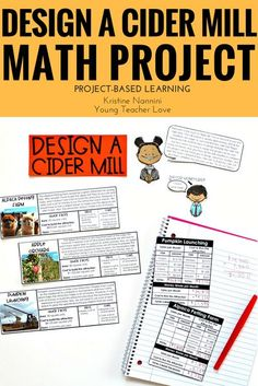 The Benefits of Project-Based Learning - Math Project - Design a Cider Mill Fall Math Project - Fall Math Activities - I created this real-world math project as a fun way to share this fall-time experience with students and help them practice different skills such as analyzing, problem-solving, and math skills (addition, subtraction, multiplication, and area). Great for your 4th, 5th, and 6th grade classroom or homeschool students. #FallPBL #FallMathProject #FallMathActivities 5th Grade Classroom, Middle School Classroom, 4th Grade Math, High School, Special Education Teacher, New Teachers, Early Education, Infant Lesson Plans, Teaching Jobs