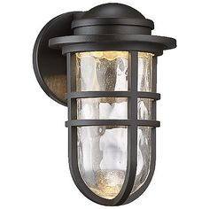 Steampunk dweLED Indoor/Outdoor Wall Sconce by WAC Lighting at Lumens.com
