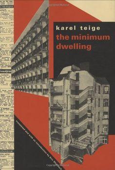 Karel Teige, english version Existenz Minimum book