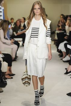 Sonia RykielTraditional nautical styles have been given an update this season - we show you how to wear them well; Mary Katrantzou reflects on her childhood in Athens; and Cartier's new collection catches our resident magpie Carol Woolton's eye.